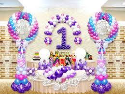 balloon arrangements for birthday balloon decoration ideas for 1st birthday image inspiration of