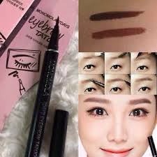 tattoo pen ebay waterproof brown 7 days eye brow eyebrow tattoo pen liner long