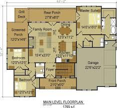 one level open floor plans one level open floor house plans cottage home plans with loft open