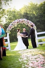 126 best outdoor wedding arches images on outdoor