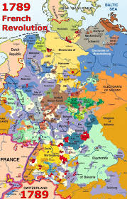 Map Of Germany And Switzerland by Holy Roman Empire
