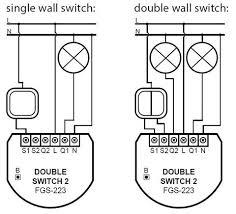 fibaro z wave plus double switch 2 fgs 223 zw5 us the smartest house