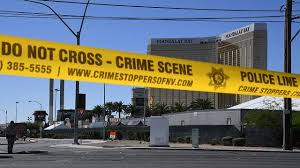 police las vegas gunman shot security guard before firing at