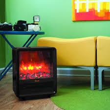 every dorm needs an electric fireplace