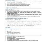 resume format format of resume gallery cv letter and format sle letter