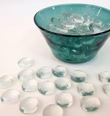 Vase Stones 2 Lb Clear Flat Glass Marbles Vase Filler Glass Stones
