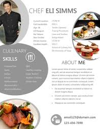 Pastry Chef Resume Chef Resume Sample Examples Sous Chef Jobs Free Template