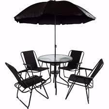 Patio Table Parasol by Free Uk Delivery Rimina 4 Seater Garden Patio Set With Parasol