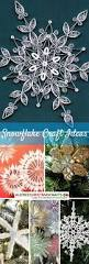 46 best snowflake crafts images on pinterest paper snowflakes