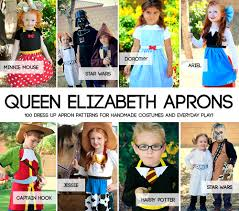 halloween aprons for adults free sewing pattern for snow white princess dress up apron it u0027s