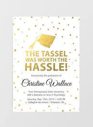 graduate invites brilliant college graduation invitations design