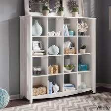 aero 16 cube bookcase room divider by bush furniture furniture