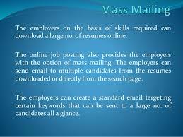 Posting Resumes Online by Benefits Of Online Job Posting