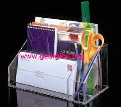 Acrylic Desk Organizers Clear Acrylic Desk Organizer Home Office Page 1 Products Photo
