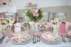 wedding table centerpiece pink and white color wedding table decor weddings