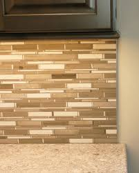 installing backsplash tile in kitchen a traditional installation of a schluter to cap the end of