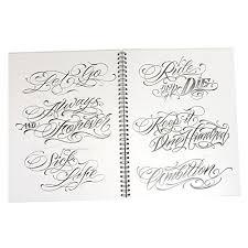 blood sweat u0026 script 65 pages tattoo flash design art book