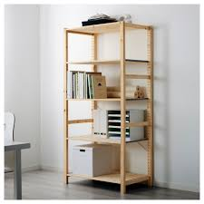 Sauder Barrister Bookcase by Door Bookcase Parts Ivar System Combinations All Parts Ikea