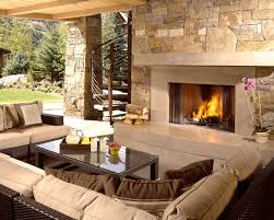 outdoor living area spaces charles cunniffe architects