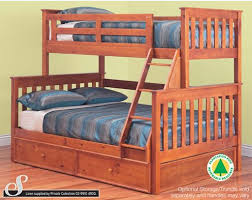 Fort Trio Bunk Bed Single Over Double Bunks Best In Beds - Single double bunk beds