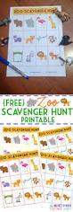 printable halloween scavenger hunt zoo scavenger hunt printable elemeno p kids