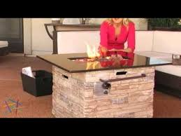 Ember Table Red Ember Coronado Gas Fire Pit Table With Cover Product Review