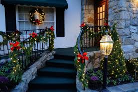 outdoor led door garland outdoor large lighted