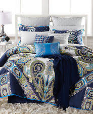 Echo Jaipur Comforter Paisley 100 Polyester Fill Comforter Sets Ebay