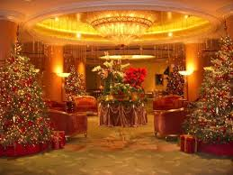 beverly hills christmas lights the lobby at christmas picture of the beverly hills hotel beverly