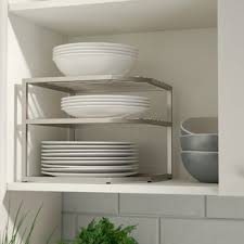 kitchen cabinet shelf cabinet organizers you ll love wayfair