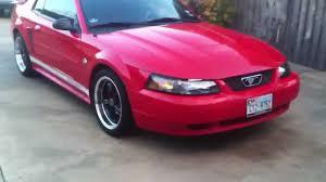 2001 Mustang Custom Interior Custom 2004 Ford Mustang 3 9l V6 Walk Around Youtube