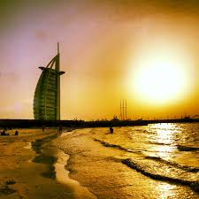 30 most incredible sunset view of the burj al arab pictures and photos