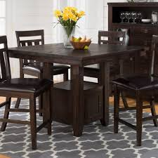 sunset trading oval cafe counter height dining table with