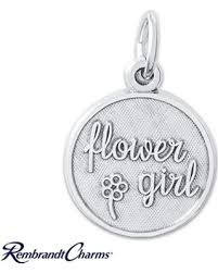 flower girl charms amazing deal on flower girl charm sterling silver