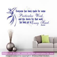 Wwe Wall Stickers Details About Jalaluddin Rumi Wall Sticker Rumi Inspirational