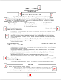 How To Build A Good Resume Examples by How To Get Started To Create A Great Business Analyst Resume Joe