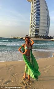 dubai hotel complains about pictures of russian models daily