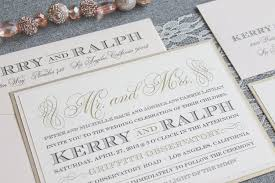 wedding invitations kerry kerry and ralph blush chapagne invited by lamaworks