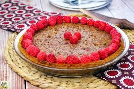 easy pecan pie recipe for thanksgiving gluten free raspberry