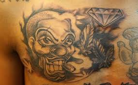 addicted clown and amazing design on