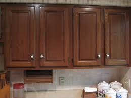 Refinish Oak Kitchen Cabinets by Staining Old Kitchen Cabinets