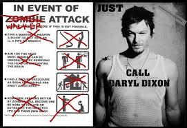 Walking Dead Meme Daryl - the walking dead daryl dixon fan lust pin of the week