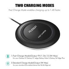 amazon com fast wireless charger pleson wireless charger cell qi