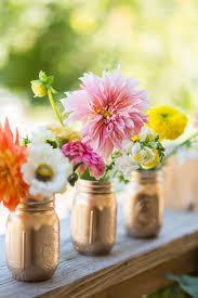 jar floral centerpieces jar weddings