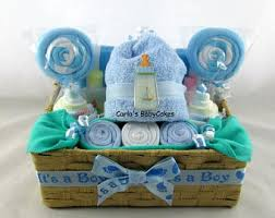 baby shower gifts baby boy gift basket etsy