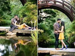 Botanical Gardens Golden Gate Park by San Francisco Japanese Tea Garden Engagement Photos
