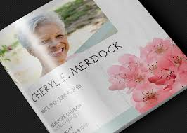 where to print funeral programs square funeral program template photoshop inspiks market