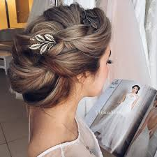 pics of bridal hairstyle hair ulyanaaster master class salon wedding chic model