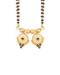 Jali Design Buy Double String Mangalsutra With Wati Theme U0026 Jali Design Online