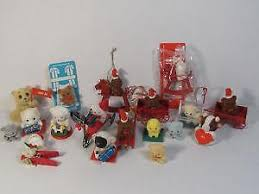 miniature ornaments ebay